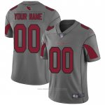 Camiseta NFL Legend Arizona Cardinals Personalizada Gris
