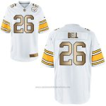 Camiseta Pittsburgh Steelers Bell Blanco Nike Gold Game NFL Hombre