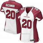 Camiseta Arizona Cardinals Bucannon Blanco Rojo Nike Game NFL Mujer
