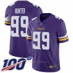 Camiseta NFL Game Minnesota Vikings 99 Danielle Hunter Violeta