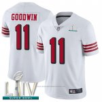 Camiseta NFL Game San Francisco 49ers 11 Marquise Goodwin Blanco