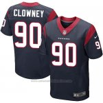 Camiseta Houston Texans Clowney Profundo Azul Nike Elite NFL Hombre