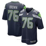 Camiseta NFL Game Seattle Seahawks Duane Brown Azul