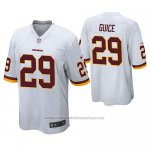 Camiseta NFL Game Washington Redskins Derrius Guice Blanco