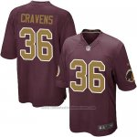 Camiseta Washington Redskins Cravens Marron Nike Game NFL Nino