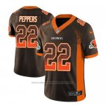 Camiseta NFL Limited Cleveland Browns Jabrill Peppers Marron 2018 Drift Fashion Color Rush