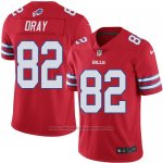 Camiseta Buffalo Bills Dray Rojo Nike Legend NFL Hombre