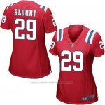 Camiseta New England Patriots Blount Rojo Nike Game NFL Mujer