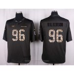 Camiseta New York Jets Wilkerson Apagado Gris Nike Anthracite Salute To Service NFL Hombre