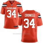 Camiseta Cleveland Browns Crowell Rojo Nike Elite NFL Hombre