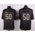 Camiseta Kansas City Chiefs Houston Apagado Gris Nike Anthracite Salute To Service NFL Hombre