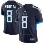 Camiseta NFL Limited Hombre Tennessee Titans 8 Marcus Mariota Azul Alterno Stitched Vapor Untouchable