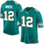 Camiseta Miami Dolphins Griese Verde Oscuro Nike Game NFL Hombre