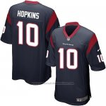 Camiseta Houston Texans Hopkins Negro Nike Game NFL Hombre