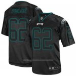 Camiseta NFL Elite Hombre Philadelphia Eagles 62 Jason Kelce Negro