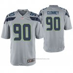 Camiseta NFL Game Seattle Seahawks Jadeveon Clowney Gris