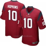 Camiseta Houston Texans Hopkins Rojo Nike Game NFL Nino